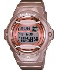 Casio BG-169G-4ER Señoras baby-g Teleanotación tiempo del mundo reloj de correa de resina de color rosa