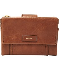 Fossil SL7103200 Ellis damas embrague multifunción de color marrón