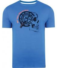 Dare2b DMT324-9PR40-XS Mens reductor paracaidista camiseta azul - el tamaño de xs