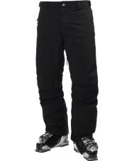Helly Hansen Pantalones negros legendarios para hombre