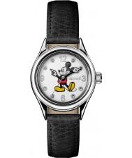 Disney by Ingersoll ID00902 Señoras de la unión de cuero negro reloj de la correa