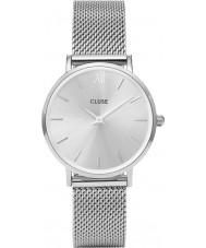 Cluse CL30023 reloj de señoras de malla minuit