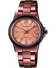 Casio SHE-4512BR-9AUER Damas Sheen reloj de bronce con los elementos