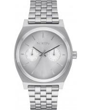 Nixon A922-1920 reloj de pulsera de acero de plata de lujo para hombre del tiempo de cajero
