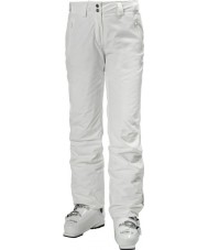Helly Hansen Pantalones de esquí blancos legendarios para damas