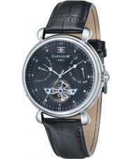 Thomas Earnshaw ES-8046-01 Reloj para hombre de la correa de cuero negro gran calandra