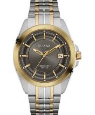 Bulova 98B273 Mens Precisionist reloj de pulsera de acero de dos tonos