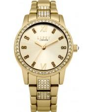 Lipsy LP463 Chapado en oro de las señoras reloj pulsera de la aleación
