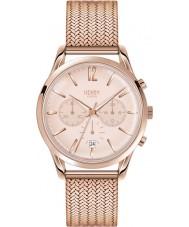 Henry London HL39-CM-0168 Damas pálido rosa shoreditch reloj cronógrafo de oro