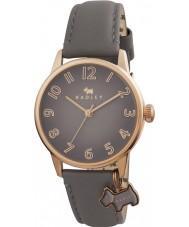 Radley RY2248 Señoras del reloj de gran tamaño encanto del perro con correa de cuero marsupial