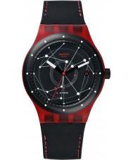 Swatch SUTR400 Sistem51 - reloj automático de color rojo sistem
