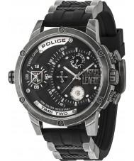 Police 14536JQ-02P Reloj de la liga de justicia de los hombres