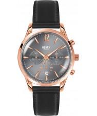 Henry London HL39-CS-0122 Damas finchley gris reloj cronógrafo negro