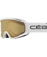 Cebe CBG101 m blanco Fanático - variochrom NXT perfo 1-3 gafas de esquí
