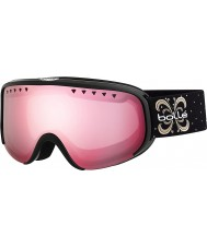 Bolle 21479 Scarlett brillante noche negro - gafas de esquí arma Vermillon