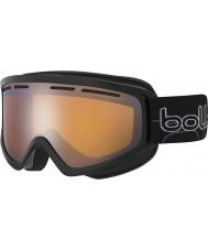 Bolle 21480 Schuss brillante negro - gafas de esquí de armas de cítricos
