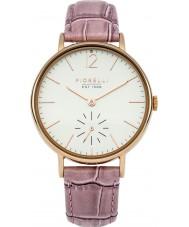 Fiorelli FO018PRG Rosa de las señoras reloj de la correa de cuero
