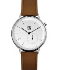 Zoom ZM-3846M-2501 Reloj para hombre marrón blanco puro