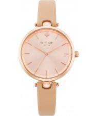 Kate Spade New York 1YRU0812 reloj de la correa de cuero de las señoras holland vachetta