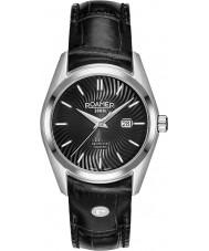 Roamer 203844-41-55-02 Damas Searock reloj de la correa de cuero negro