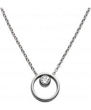 Skagen SKJ0833040 Las señoras de plata collar de acero Elin