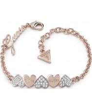 Guess UBB85102-L Pulsera con ramo de corazones de mujer