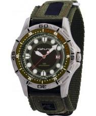 Kahuna K5V-0003G Reloj para hombre verde de velcro