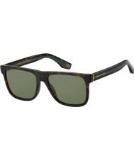 Marc Jacobs Mens marc 275 s 086 qt 55 gafas de sol