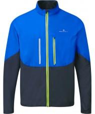 Ronhill RH-001893R424-S Para hombre de la chaqueta de avance de cobalto windlite negro - tamaño s