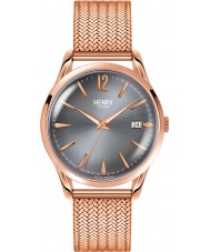 Henry London HL39-M-0118 Damas gris finchley reloj de oro rosa