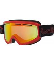 Bolle 21481 Schuss brillante rojo - gafas de sol de esquí