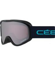 Cebe CBG104 El delantero m negro y azul - rosa de la luz de flash espejo gafas de esquí