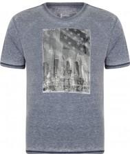 Dare2b Camiseta para hombre del marl del peacoat de la