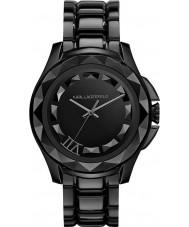 Karl Lagerfeld KL1001 Karl reloj de la pulsera 7 de acero negro