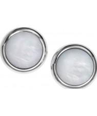 Fossil JF00705040 Damas clásico tono de plata y madre de perla tacos