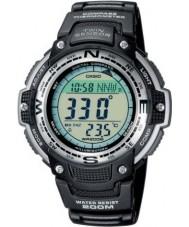 Casio SGW-100-1VEF Deportes para hombre del engranaje doble sensor de reloj resistente a bajas temperaturas