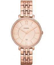 Fossil ES3546 Las señoras Jacqueline reloj color de rosa dorado