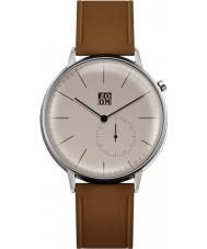 Zoom ZM-3846M-2524 Reloj para hombre marrón puro camello