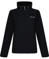 Dare2b DWL121-80014L Señoras de la levedad de la chaqueta del softshell negro - tamaño de uk 14 (l)