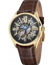 Thomas Earnshaw ES-8037-03 Mens armagh reloj de la correa de piel de cocodrilo marrón