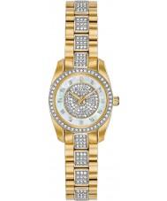Bulova 98L241 Ladies reloj de cristal
