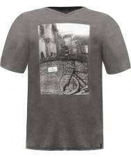 Dare2b Camiseta para hombre del marl gris de la foto t-shirt
