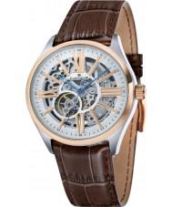 Thomas Earnshaw ES-8037-04 Mens armagh reloj de la correa de piel de cocodrilo marrón
