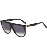 Celine Damas cl 41435-s 086 w2 gafas de sol oscuras Habana