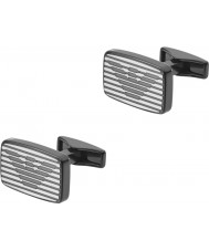Emporio Armani EGS2179060 Para hombre de la firma dos gemelos de acero tono
