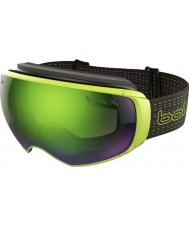 Bolle 21160 Virtuose negro y lima - gafas de esquí arma esmeralda verde y limón