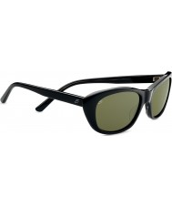 Serengeti Bagheria negro concha gris gafas de sol polarizadas 555nm