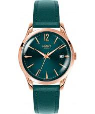Henry London HL39-S-0134 Damas stratford reloj de color verde pato silvestre