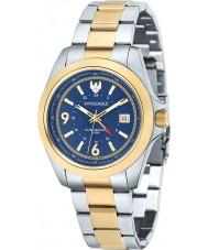 Swiss Eagle SE-9066-33 Mens Dufaux reloj de pulsera de acero de dos tonos