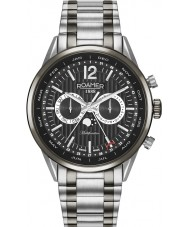 Roamer 508822-40-54-50 Reloj para hombre pulsera multifunción dos tonos de negocio superior